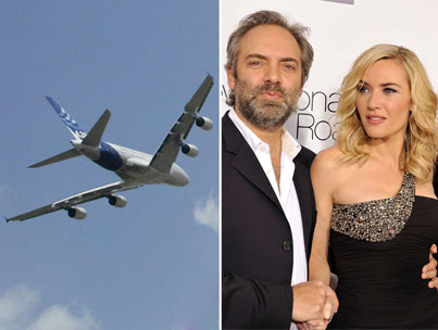 Kate Winslet and Sam Mendes: Flying Solo