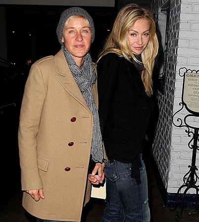 Ellen DeGeneres Celebrates Her 51st with Portia
