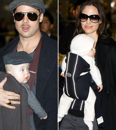 The Jolie-Pitt Clan Are Big in Japan
