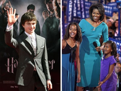 Daniel Radcliffe to Obama Girls: 'Come to Hogwarts!'