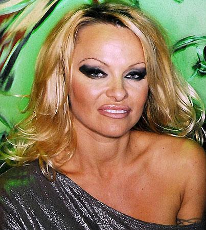 Pamela Anderson Gets Primal
