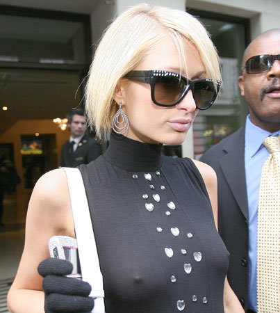 Paris Hilton Is Chilly (and Intelligent!)