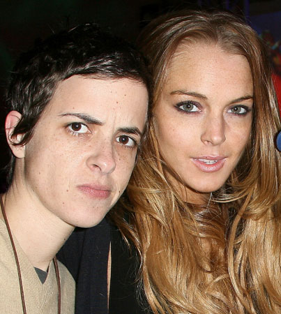 Lindsay Lohan and Sam Ronson Hit Up the ESPN NEXT Super Bowl Party