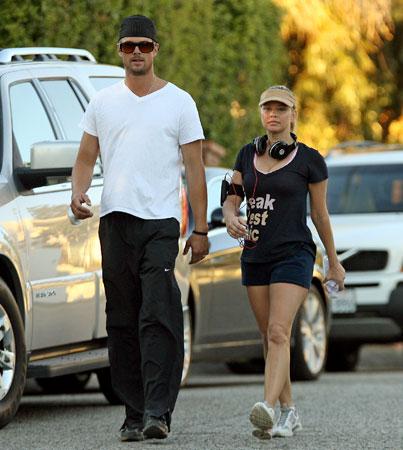 Fergie and Josh Duhamel's Newlywed Workout
