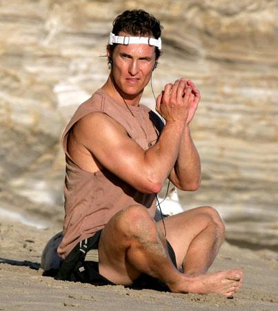 Matthew McConaughey: Beach Guru