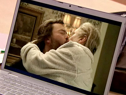 Cloris Leachman Kisses and Tells on Jack Black