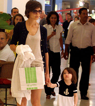 Suri Cruise Is Anchored—and Annoyed