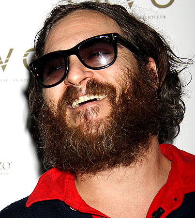 "Joaquin Phoenix Insists His Rap Career Is ""Serious""…Really"