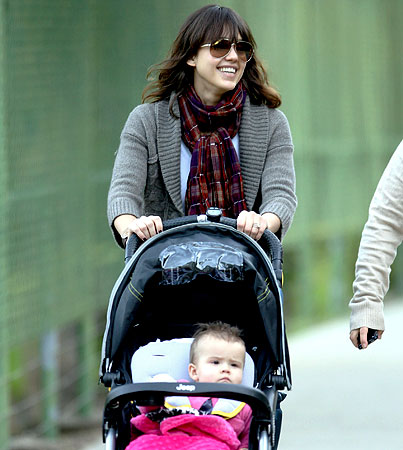 Jessica Alba Was Sad to Lose Baby Weight