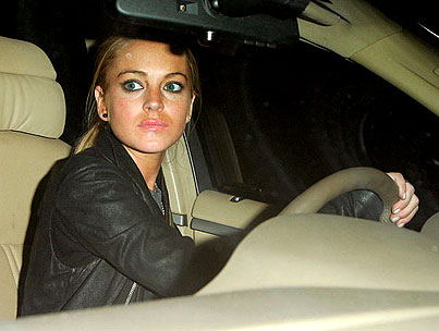 VIDEO: Lindsay Lohan's Back Behind the Wheel