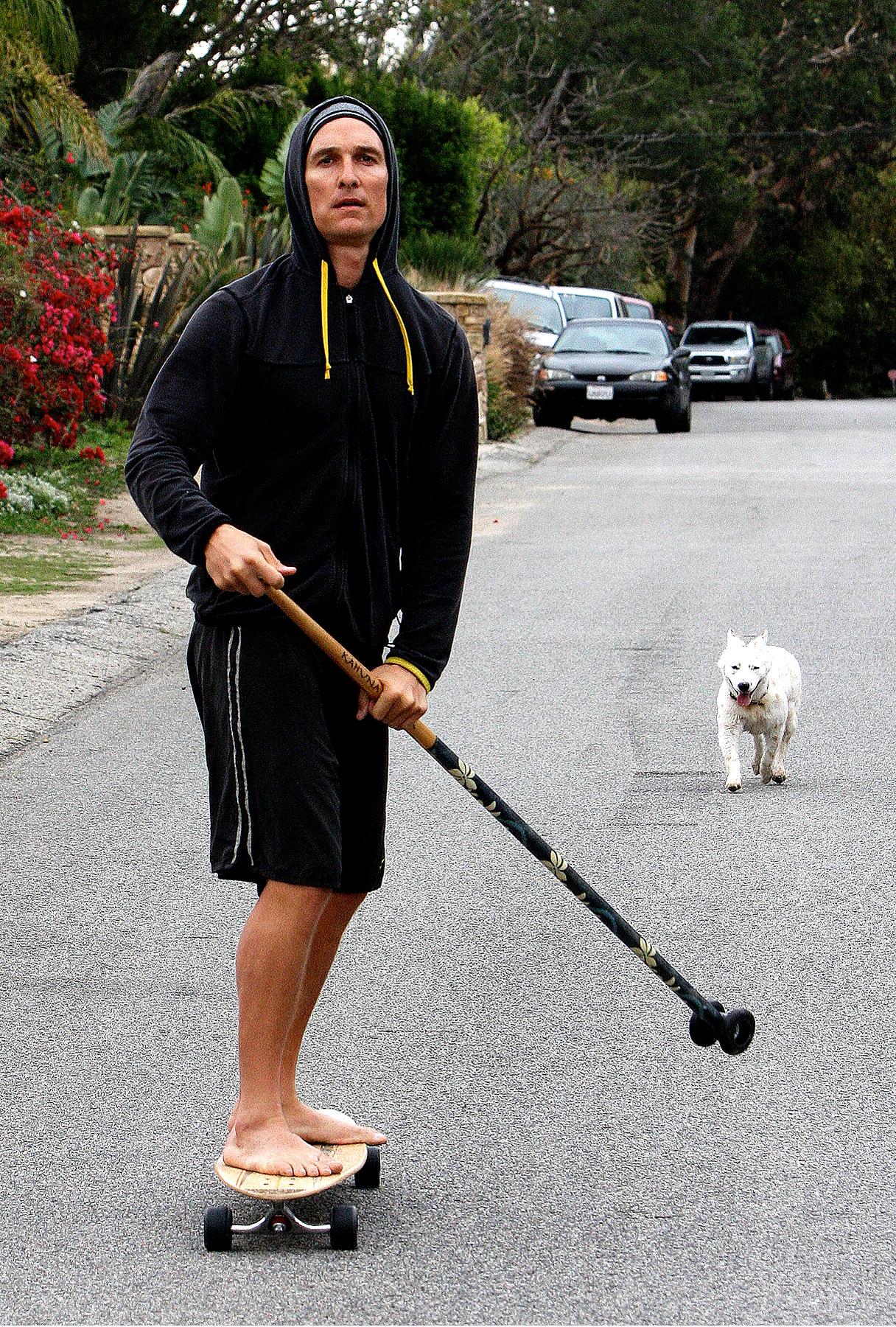 Matthew McConaughey: Skateboard or Gondola?