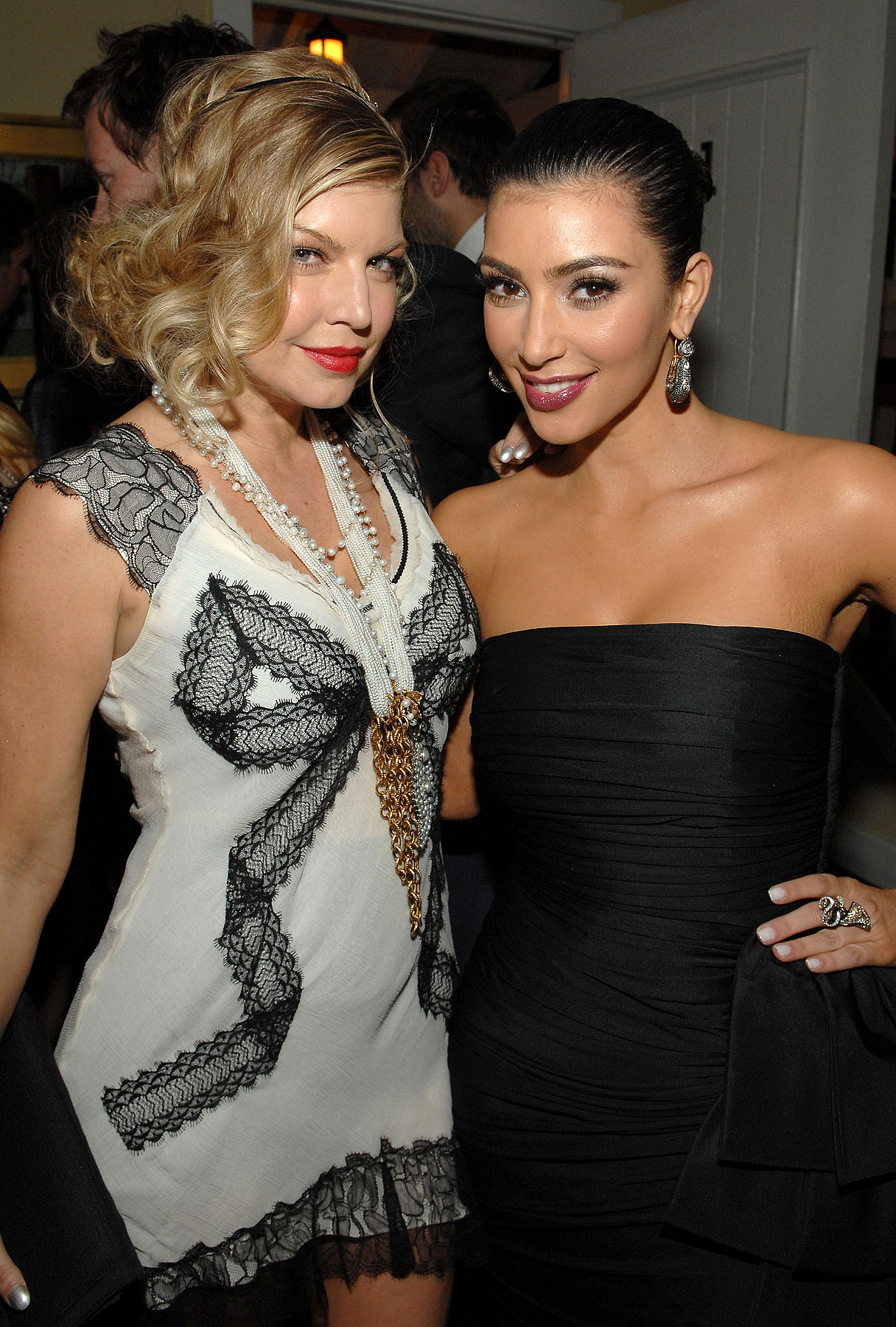 It's Fashion Love, Not War, For Kardashian & Fergie