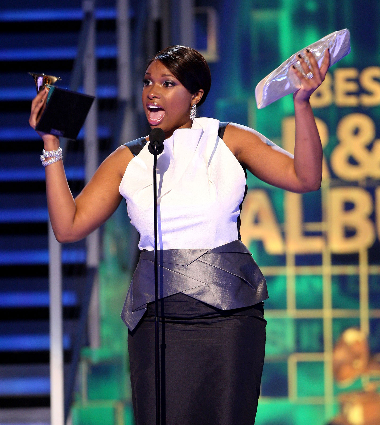 Jennifer Hudson: Triumph and Tears at Grammys
