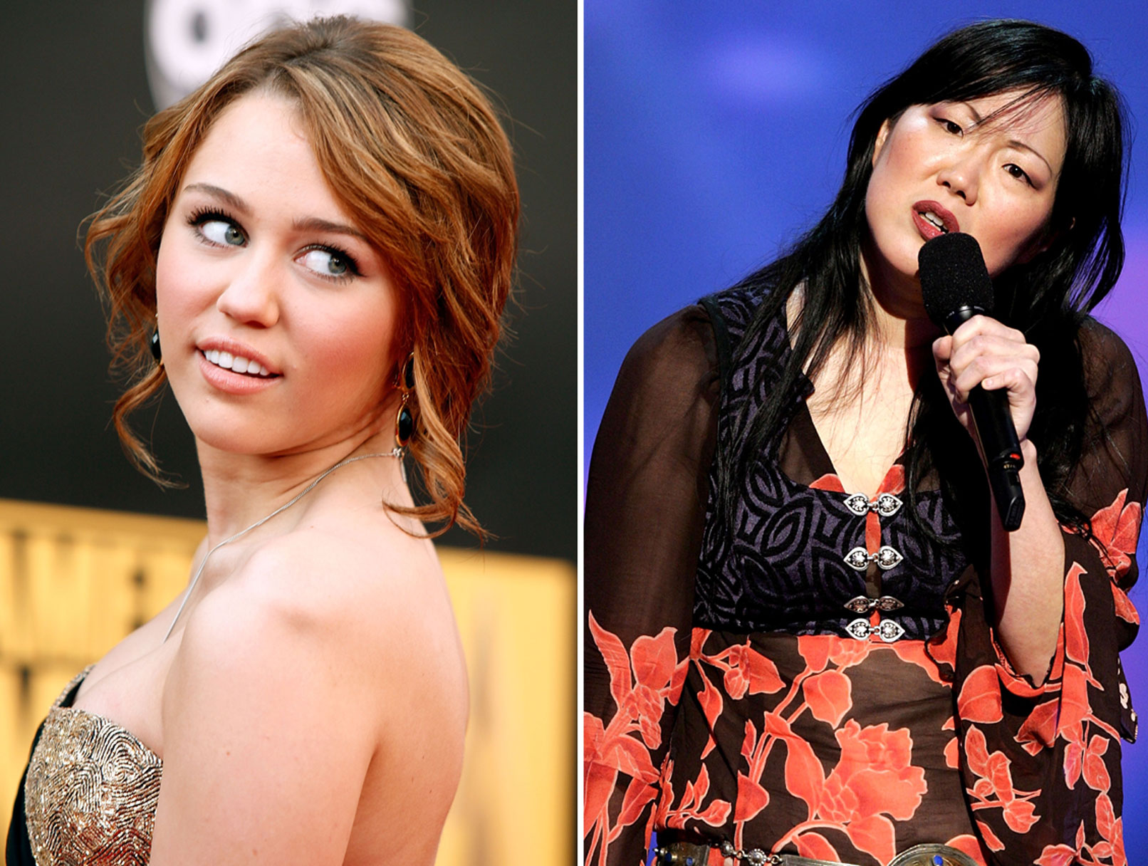 Miley and Margaret: It's a Cho-Down!