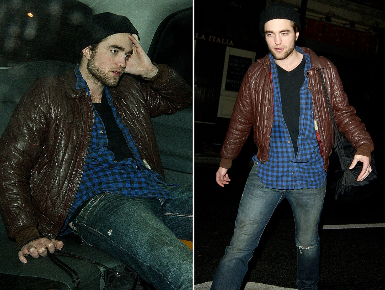 Robert Pattinson Gets Happy at Groucho Club. Again.