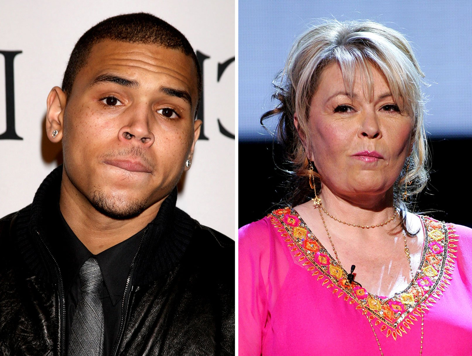 "Roseanne on Chris Brown: ""IT'S YOUR FAULT, A**HOLE!"