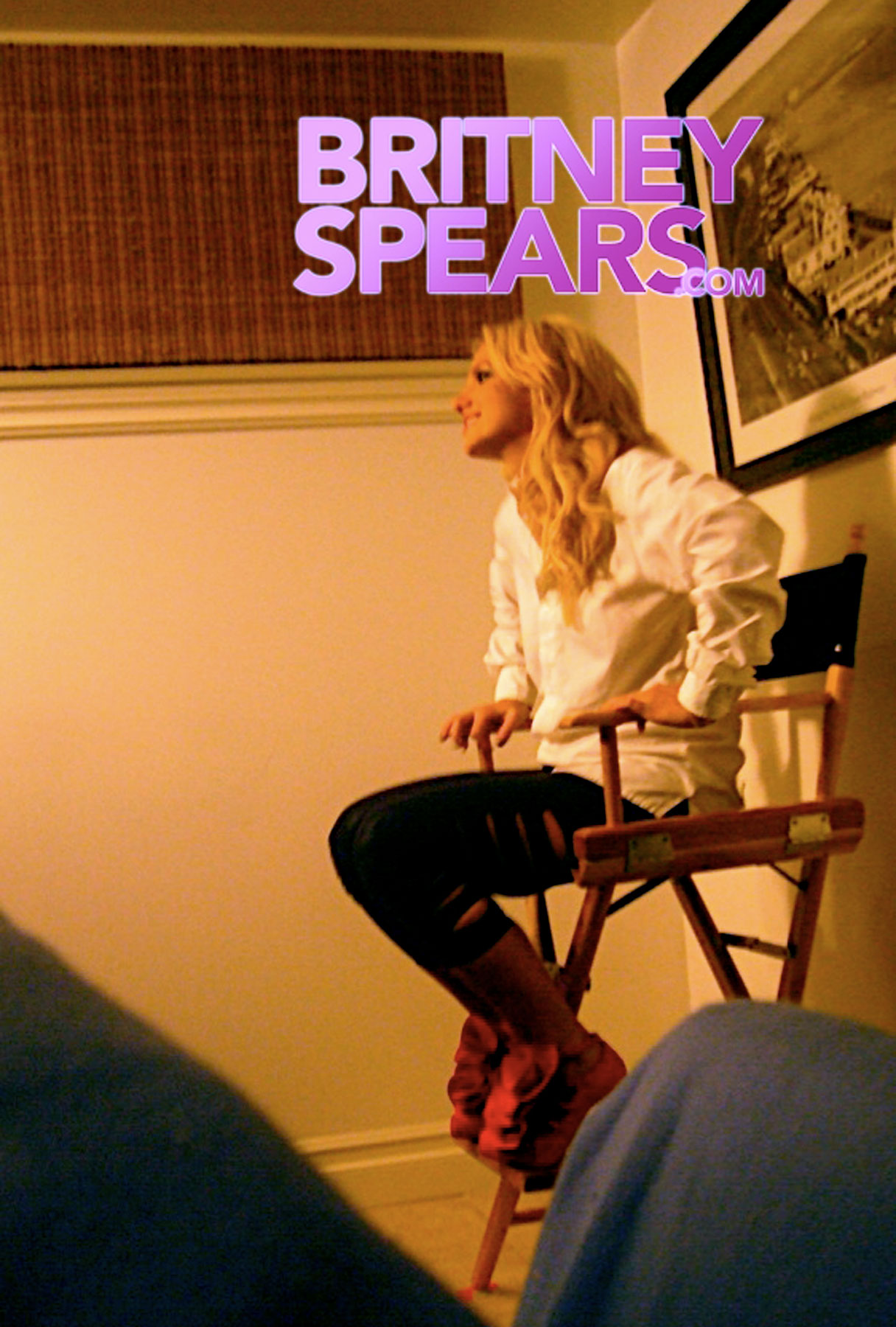 Britney Spears: Behind the Scenes at the 'If You Seek Amy' Video Shoot