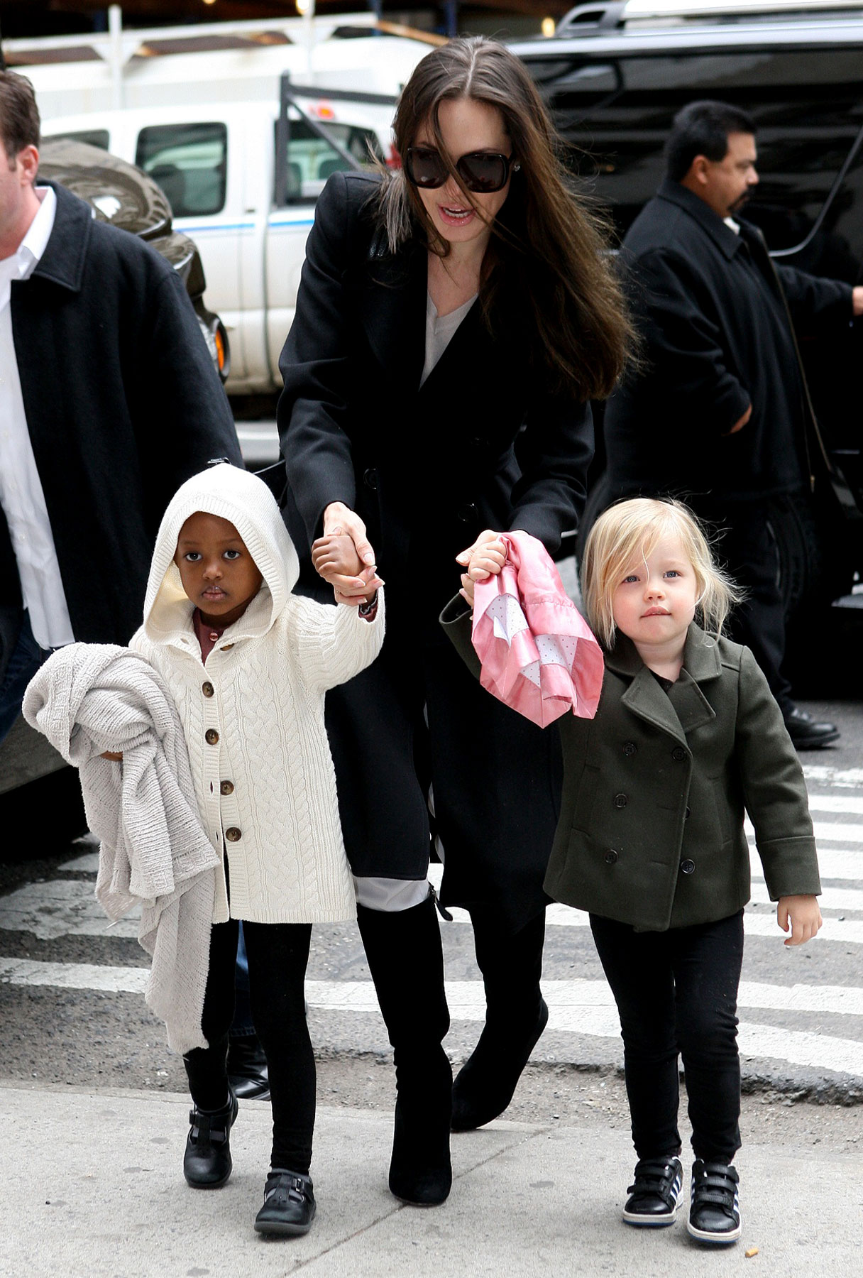Angelina Jolie and Family: Moving to NYC?