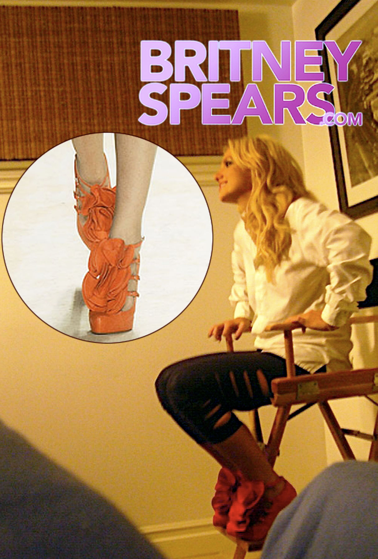 "All About Britney Spears' ""Amy"" Shoes"