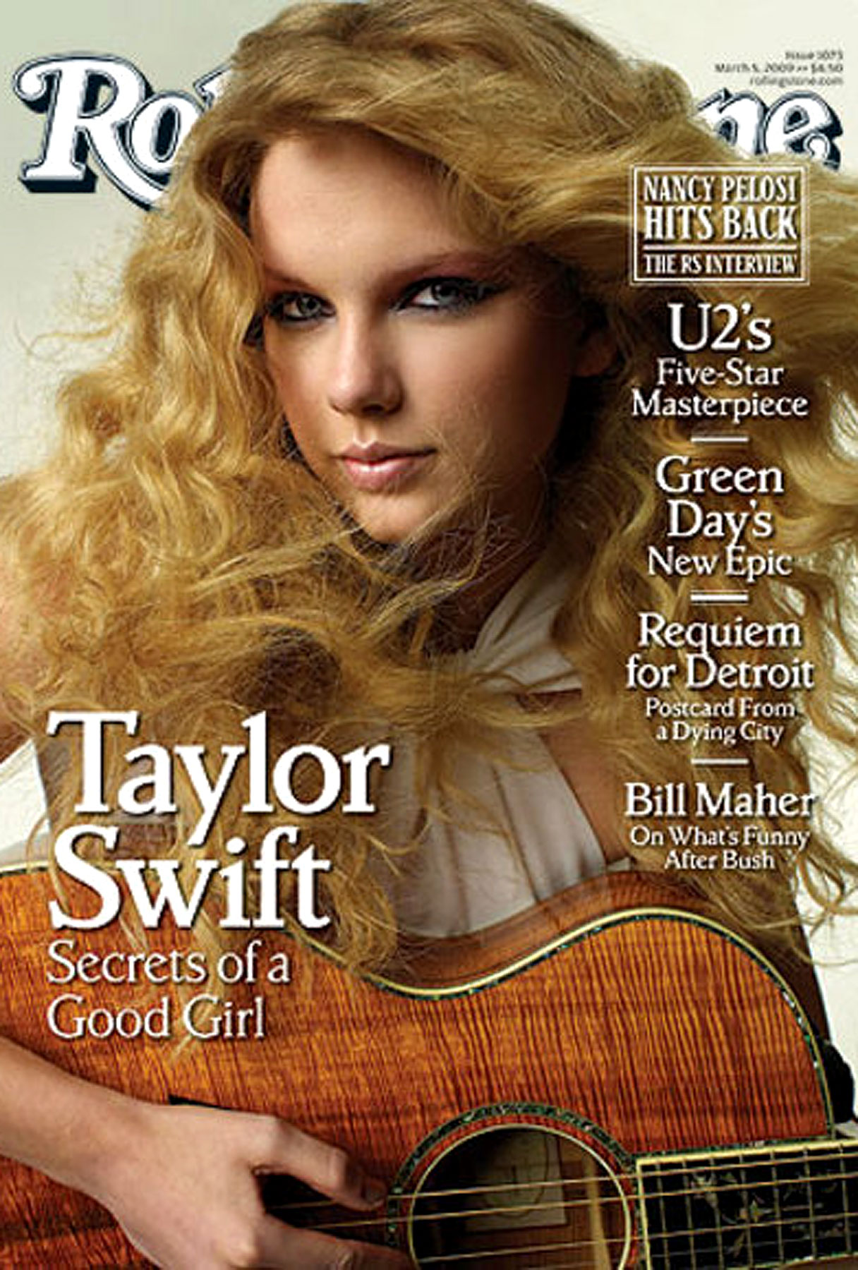 Taylor Swift Has 'Rolling Stone' Covered