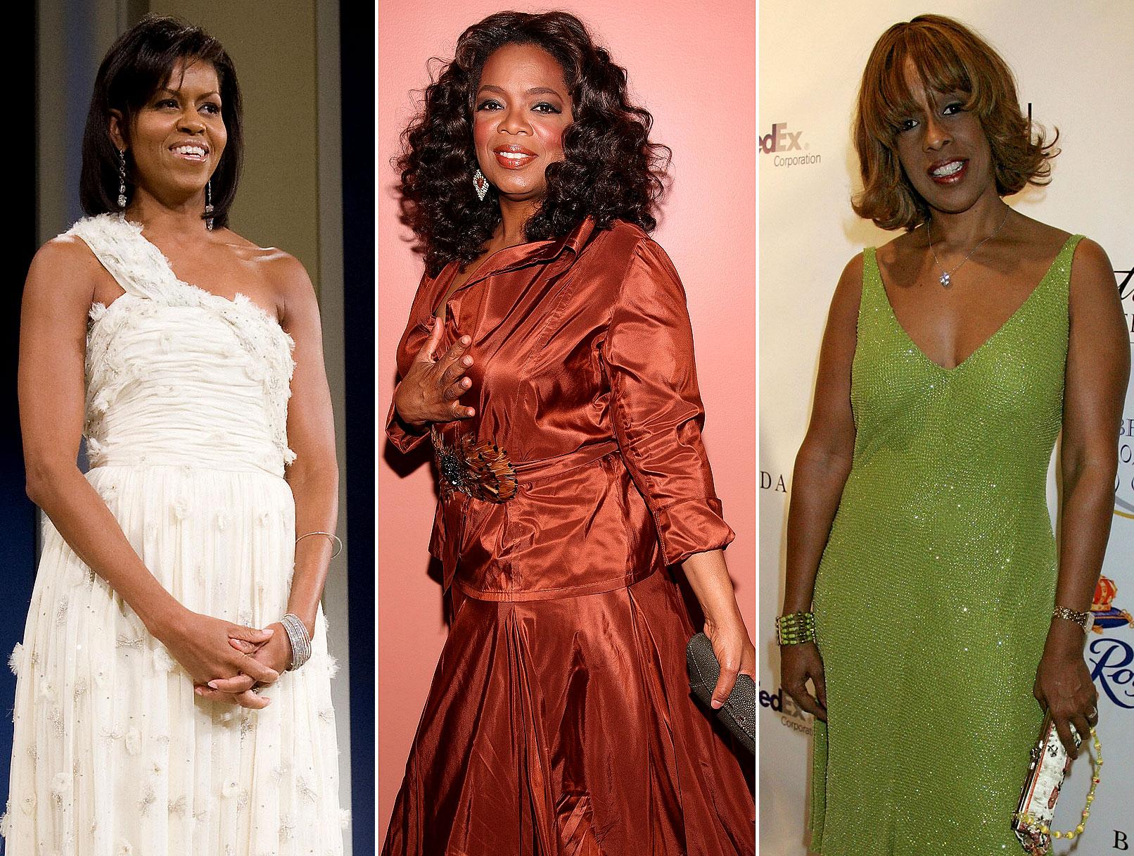 Oprah & Gayle Visit Michelle Obama