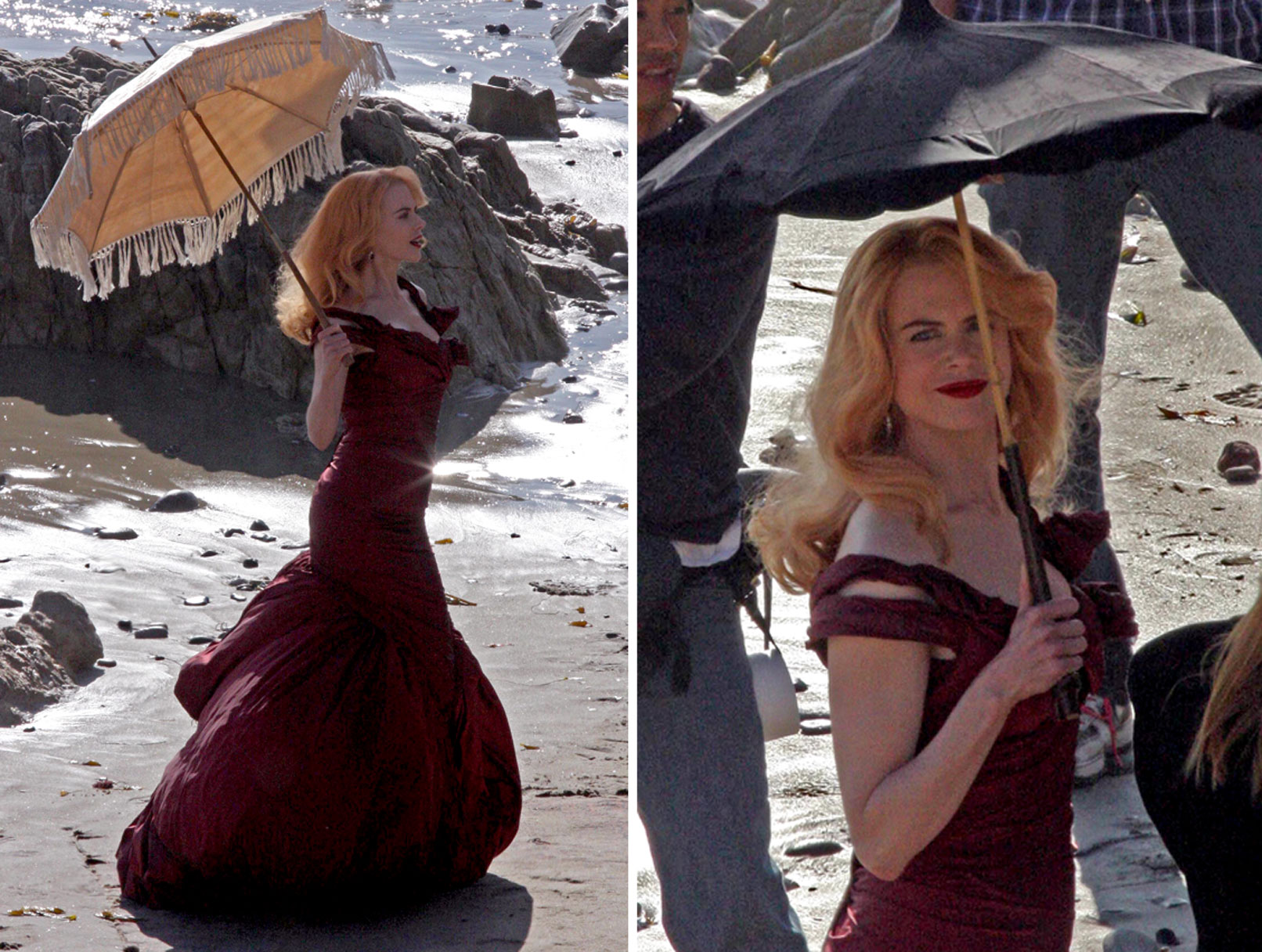 Nicole Kidman: Red Ahead