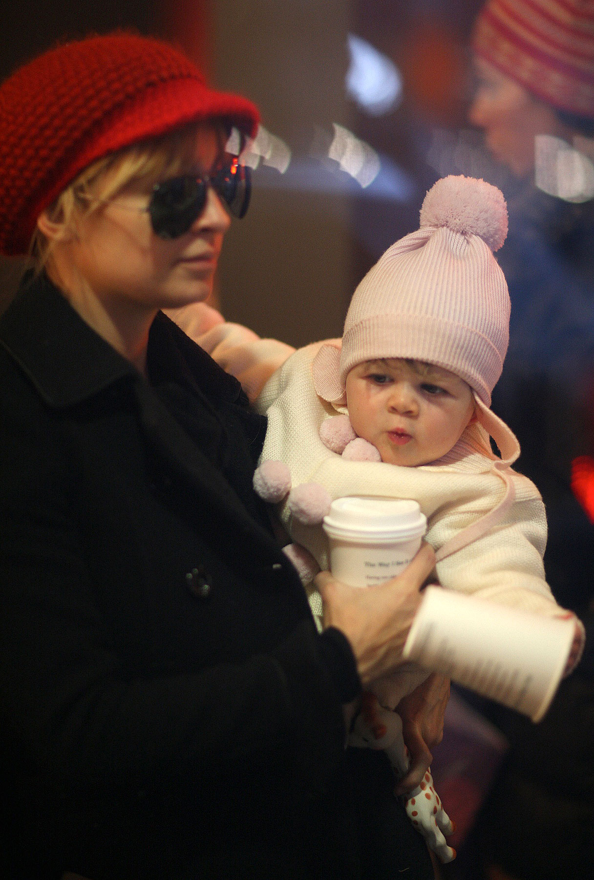 Nicole Richie and Harlow Madden: Shopping Up a Storm