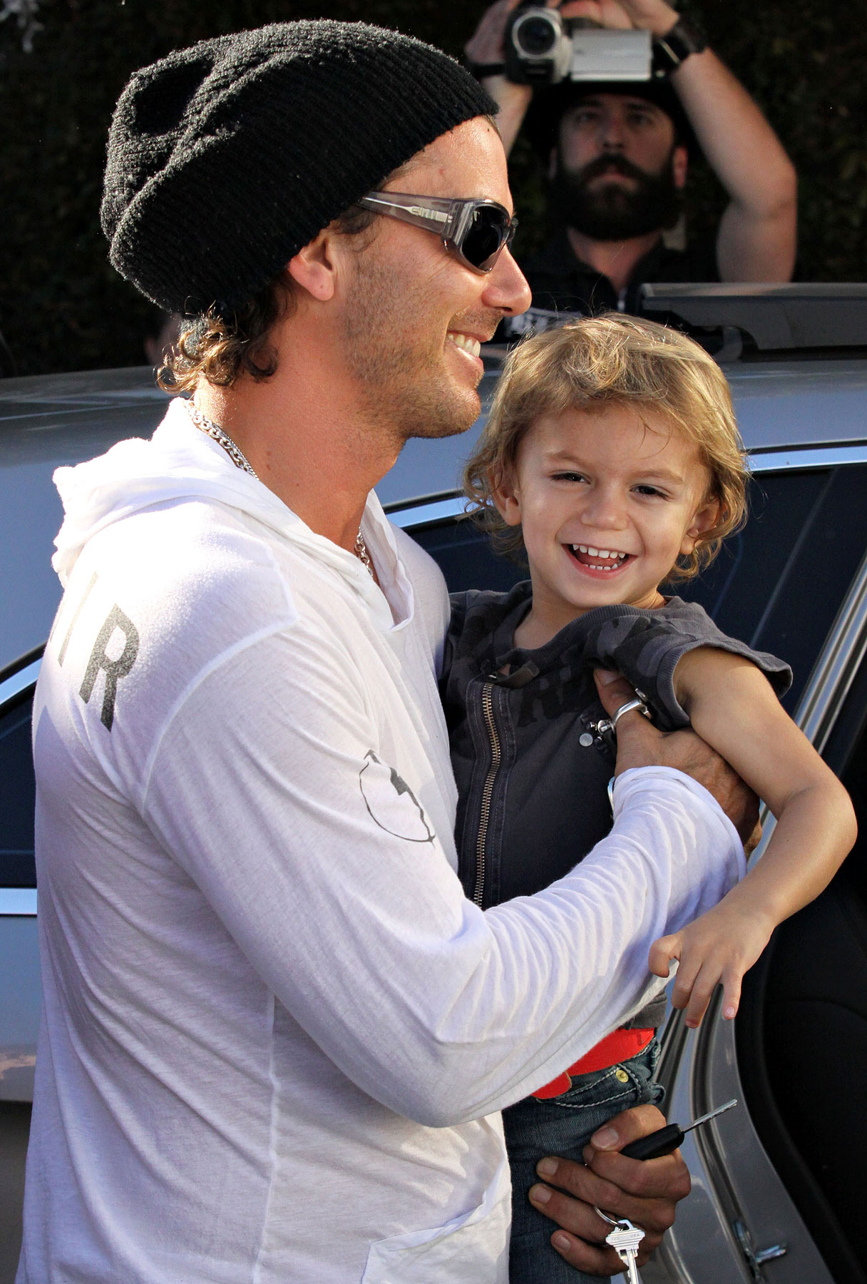 Gavin Rossdale and Kingston: Father-Son Tour Buddies