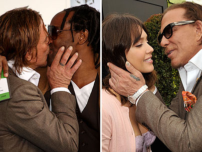 Mickey Rourke's Indy Awards Kiss-Off