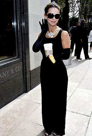 Jennifer Love Hewitt's Breakfast at Tiffany's