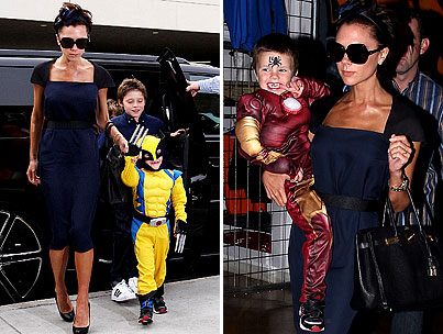 VIDEO: Cruz Beckham's Heroic 4th Birthday Party