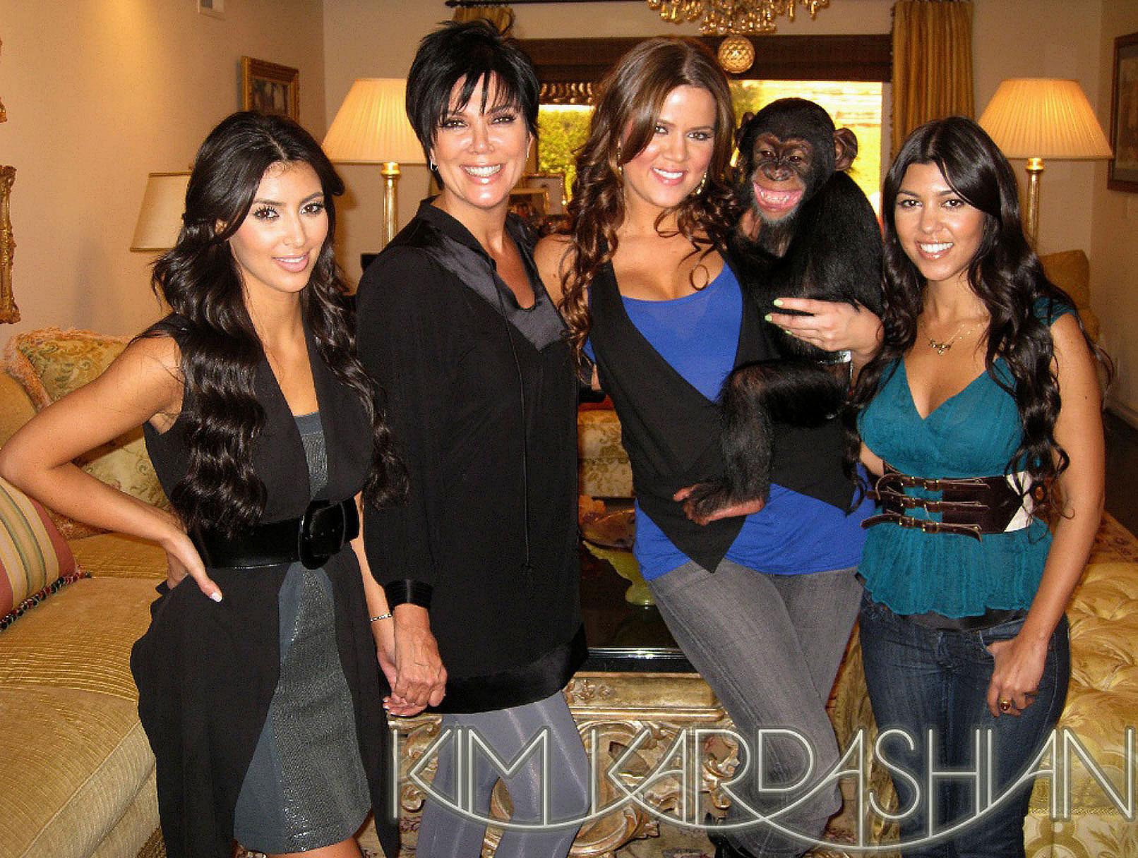 Kim Kardashian Apologizes for Monkey Business