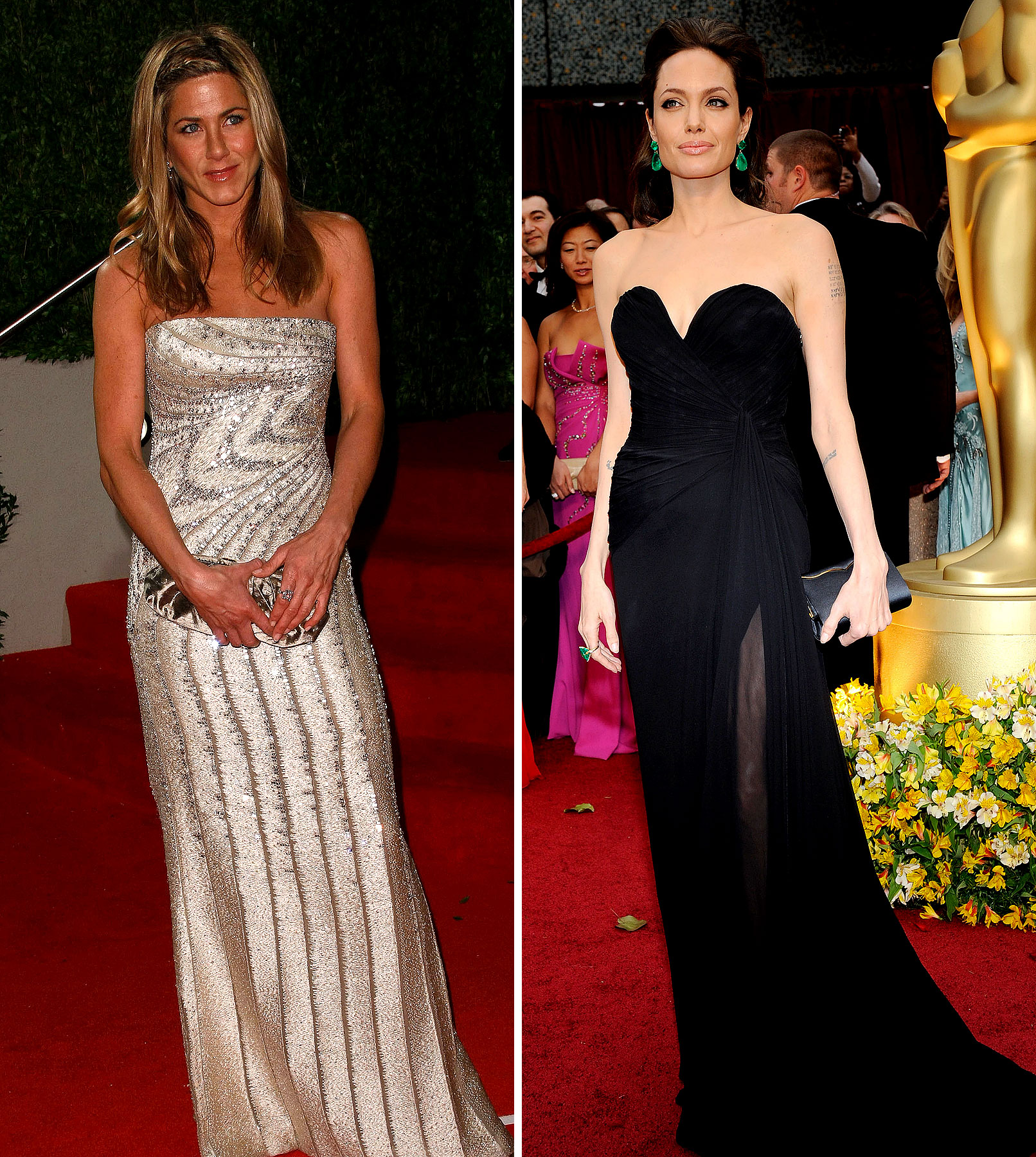 Angelina Jolie vs. Jennifer Aniston: Celebuzz Readers Sound Off!