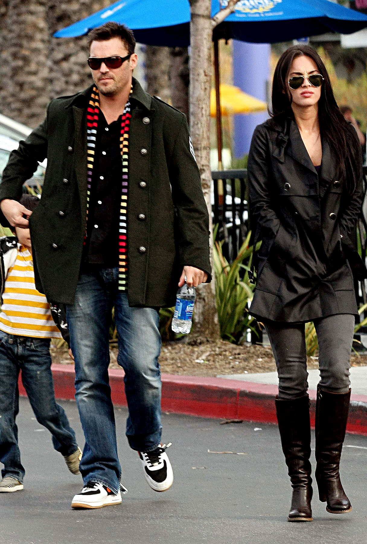 Megan Fox and Brian Austin Green: Unengaged