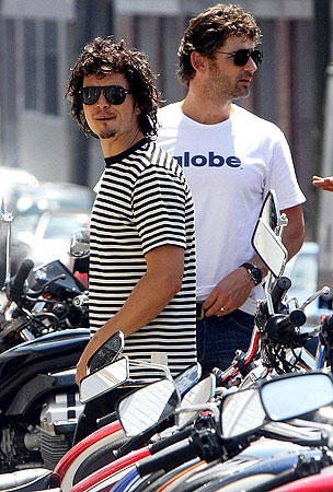 Orlando Bloom and Eric Bana: Wheel Good Buds
