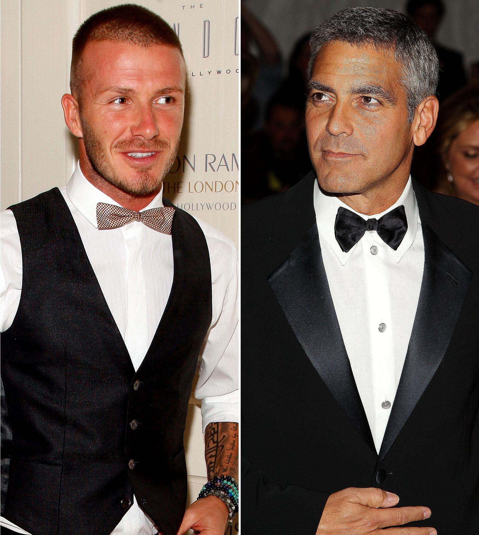 George Clooney's Celebrity Tenant: David Beckham