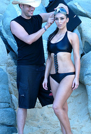 Kim Kardashian: Inside Her Calendar Shoot
