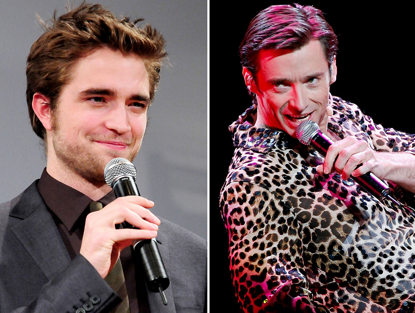 Robert Pattinson and Hugh Jackman's Karaoke Bromance