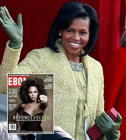 "Michelle Obama on Beyonce: ""She's So Real"""