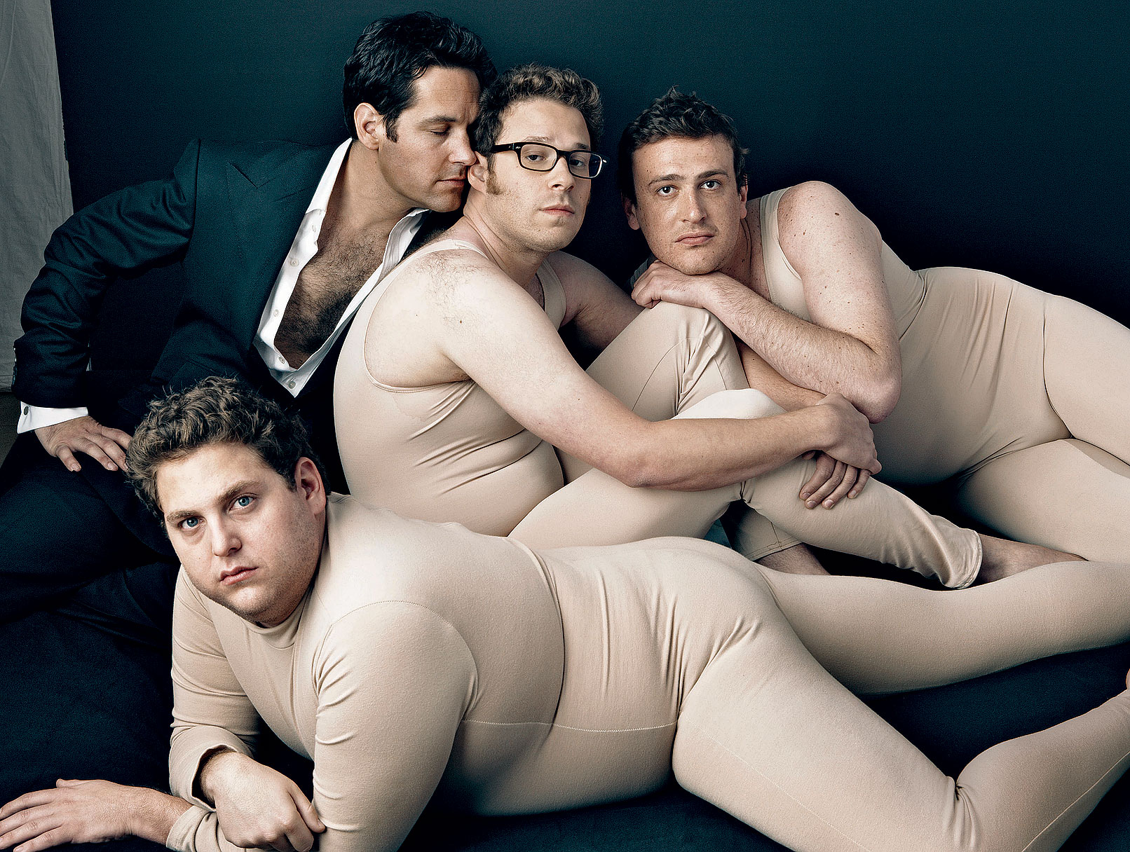 'Vanity Fair' Covers Laughs and Man-Love