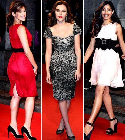 Scarjo, Eva and Freida: 'Extreme' Beauties