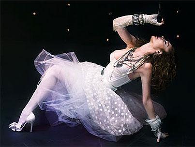Lindsay Lohan Channels Madonna