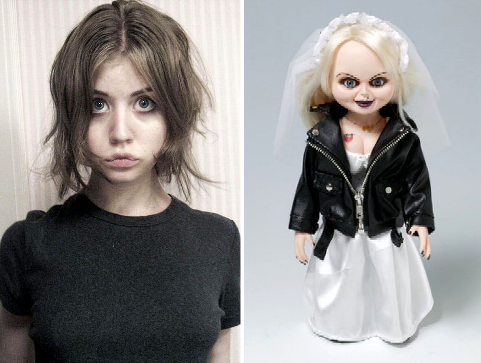 Top Model Allison Harvard Is…the Bride of Chucky!