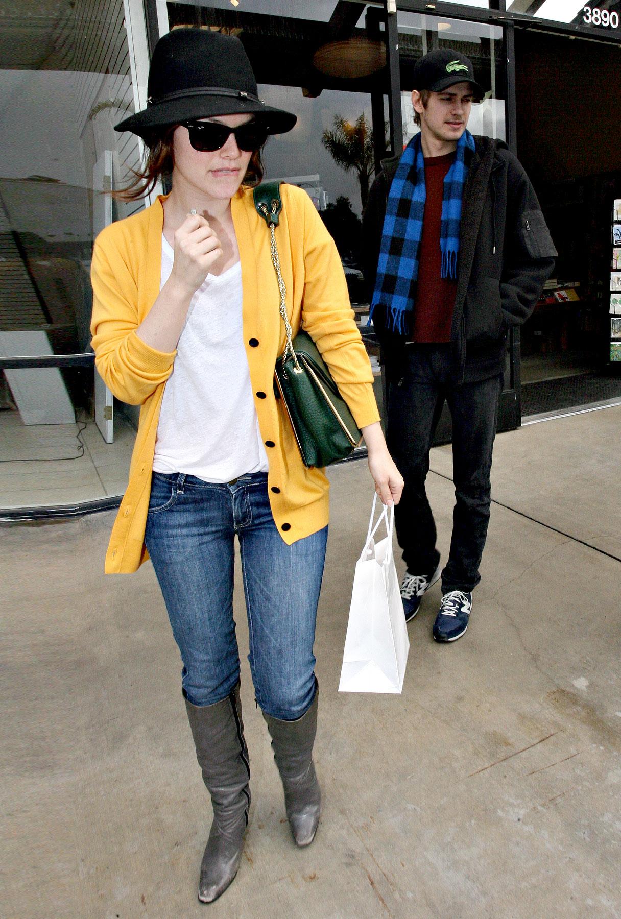 Rachel Bilson and Hayden Christensen: Marmalade in Malibu