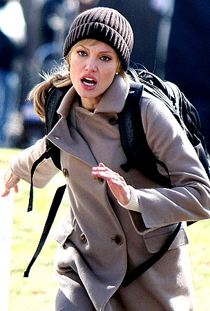 Angelina Jolie: Fox on the Run