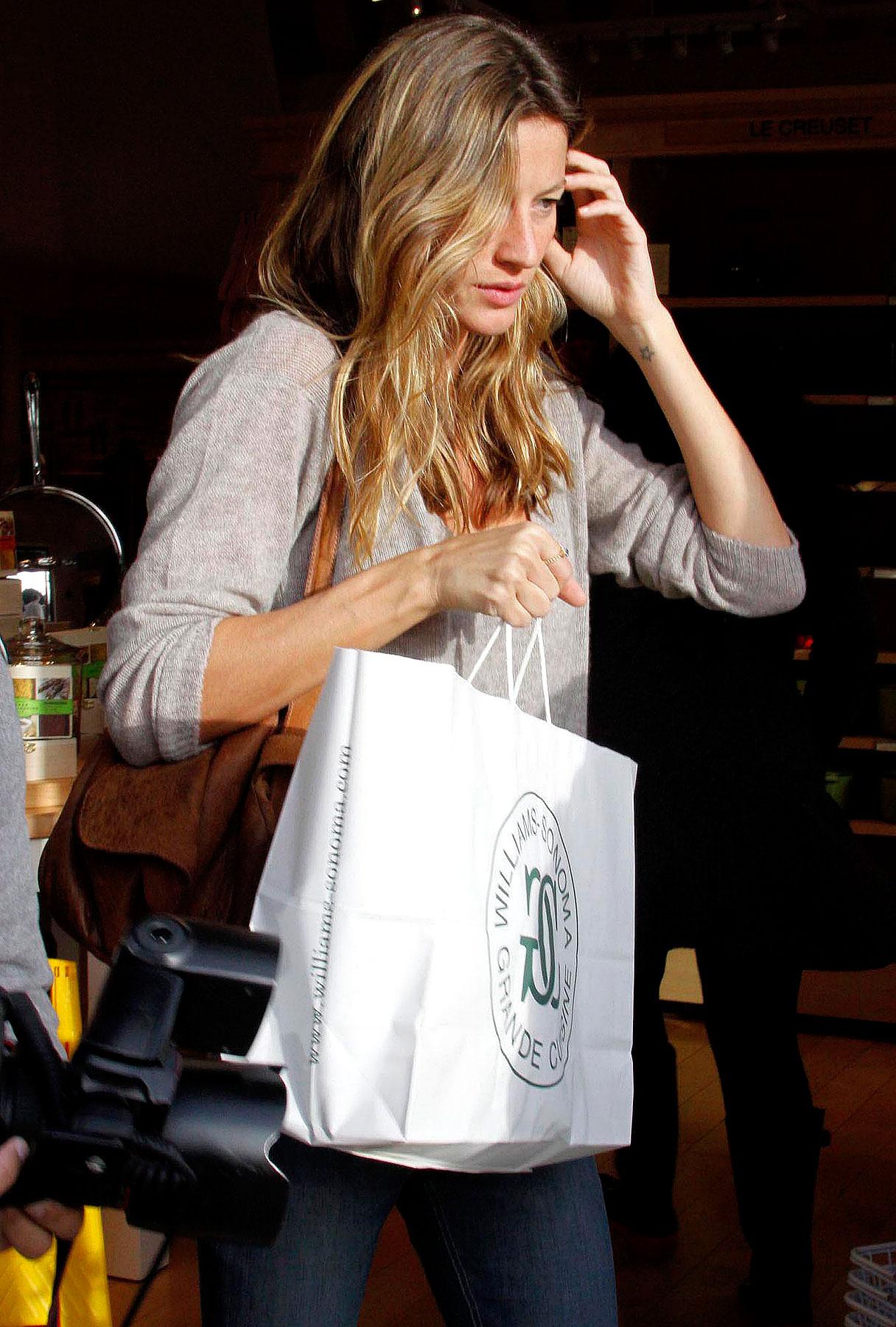 Tom Brady and Gisele Bundchen's Post-Wedding Retail Session
