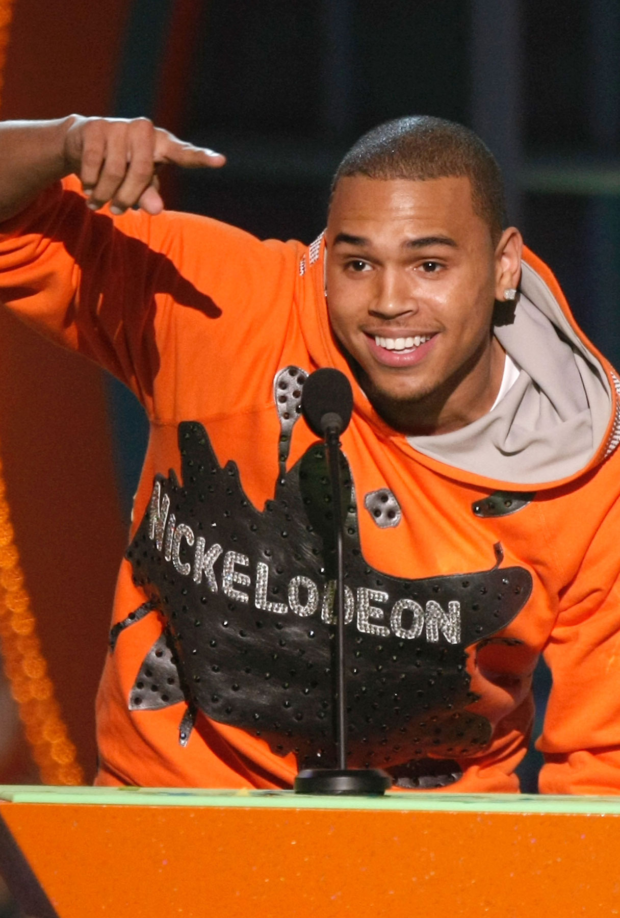 Chris Brown Wants Your Vote!