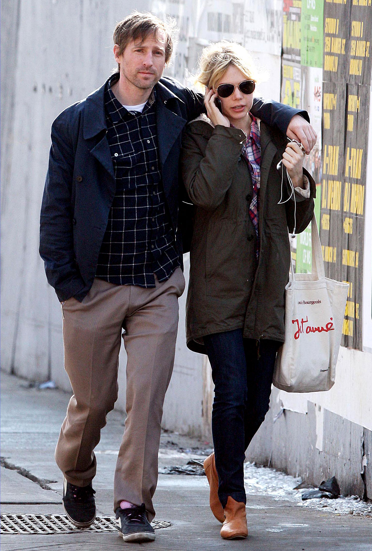 Michelle Williams and Spike Jonze Just Stroll Along