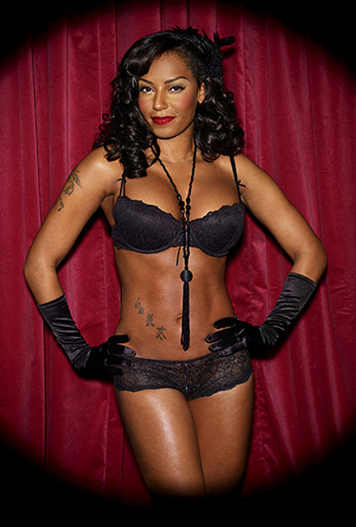 Mel B's Spicy Lingerie