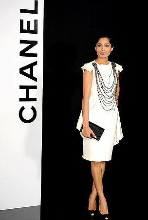 Freida Pinto: From 'Slumdog' to Chanel Chic